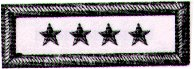 CSN Flag Officer's Shoulder Boards