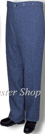 CSMC Winter Trousers, Cadet Gray (Confederate Marine Corps)