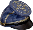 ProfessorJackson Forage Cap in dark blue