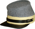 M1861 Confederate Enlisted Kepi for Cavalry