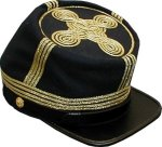 C.S. Junior Officer (Lieutenant) Kepi - Infantry, American Civil War Men's Hat