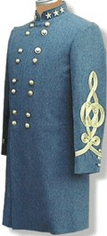 General Robert E. Lee Booted and Spurred uniform coat