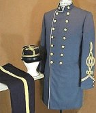 C.S. Major of Staff outfit, including frock coat, pants and kepi, American Civil War Uniforms