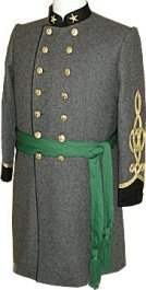 Civil War C.S. Sergeon's (Major) Senior Officer Frock Coat