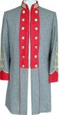 C.S. Captain's Frockcoat with custom lapels, American Civil War Uniforms