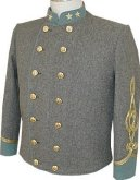 C.S. Lt Colonel's Shelljacket, American Civil War Uniforms