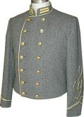 C.S. 1st Lieutenant's Shelljacket, American Civil War Uniforms