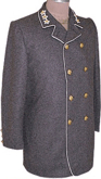 Civil War Junior Officers Sack Coat with Civilian Style Collar and Shoulder Boards, American Civil War Military Uniforms
