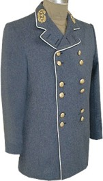 Confederate Officers Sack Coat for Brigadier General