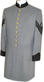 Civil War C.S. Enlisted and NCO Frock Coat