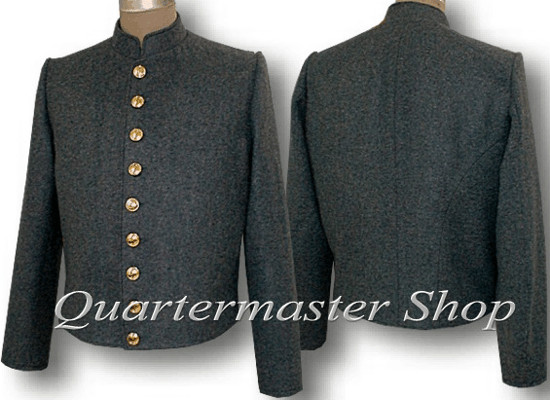 Confederate Marines (CSMC) Shelljacket, front and back