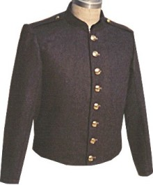 Civil War C.S. Peter Tait Enlisted and NCO Shelljacket, with shoulder straps