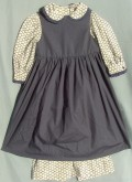 Girl's Pinafore. Victorian & Civil War dresses