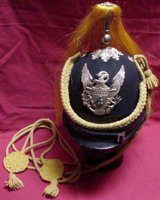 U.S. M1881 (Indian Wars) Dress Helmet for Mounted Service, 19th Century (1800s) Men's Hat