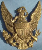 Infantry Officer's Helmet Plate
