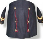 USMC M1875 Enlisted Full Dress Frock Coat, Indian Wars Uniform item