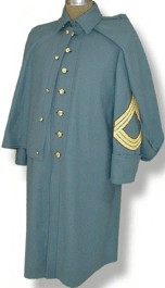 USMC (Marine Corps) Enlisted M1875 Greatcoat, 19th Century (1800s) Clothing