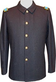M1876 Officer's Fatigue Blouse, without braid trim