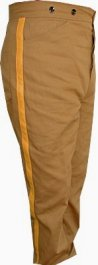 M1884 Mounted Trousers, Brown Canvas Duck