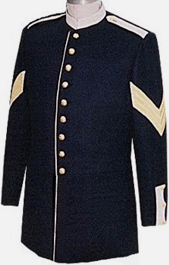 m1885 Enlisted Foot Dress Frock Infantry Sergeant
