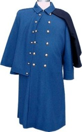 M1885 Enlisted Greatcoat for both foot and mounted - Infantry shown