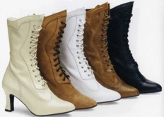 Ladies Boot / Shoe, High Lace-Up - Vows