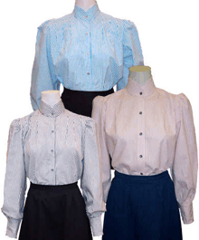Pioneer Blouse, Ladies (1900s)