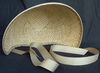 Spoon Bonnet, 19th Century (1800s) Ladies Hat