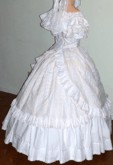 Ladies ball bodice and skirt. Victorian & Civil War dresses