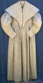 1830's to 1840's Day Dress with Pelerine, front. 19th Century