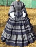 Ladies 1850s-1860s Never-ending Dress - # 9761, 19th Century (1800s) Ladies Dresses