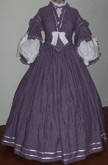1860s Pagoda Day or Tea Dress. Simplicity Pattern 3855, 19th Century (1800s) Ladies dresses