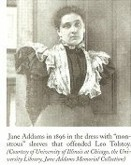 1896 jane Addams dress - write up. Victorian & Civil War dresses
