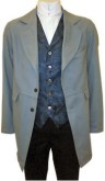 Civilian / Gunfighter Frockcoat in  Grey