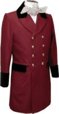 Civilian Frockcoat 1835-1845 style in Chestnut, 19th Century (1800s) Clothing