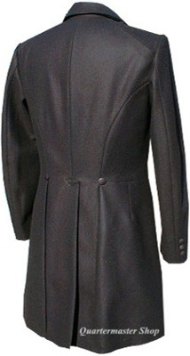 Abraham (Abe) Lincoln Frock Coat, back