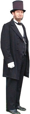 Abraham (Abe) Lincoln Frock Suit