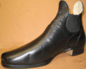 Men's Shoes, Congress in Black (Type 2), by Robert Land