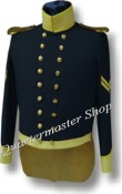 M1832 Enlisted Dragoon Coatee, Mexican War
