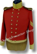 M1832 Enlisted Dragoon Musician Coatee,Mexican War