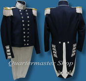 M1833 Officer's Dress Shako (Infantry), except Generals, Mexican War