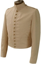 US M1841 Officers Shell Jacket - Summer, Mexican War