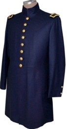 M1841 Officer's Frockcoat, except Generals, Mexican War