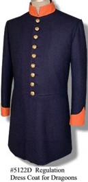 U.S. M1851 Enlisted Dress Coat, Post Mexican War