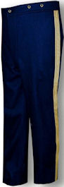 U.S. Naval Officers Full Dress Trousers.