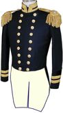 U.S. Naval Officer's Full Dress Tailcoate Coat for Commanders