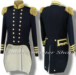 U.S. Naval Officer'sD Full Dress Tailcoate Coatl