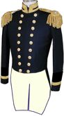 U.S. Naval Officer's Full Dress Tailcoate Coat for Lieutenants