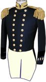 U.S. Naval Officer's Full Dress Tailcoate Coat for Masters