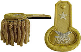 Civil War Officers Dress Epaulets